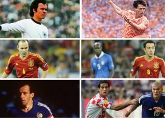 L'Èquipe: Platini, el mejor de la historia en las Eurocopas; Xavi 3º, Iniesta 4º y Torres el 7º