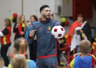 Carrasco, la gran preocupación de Bélgica para la Eurocopa