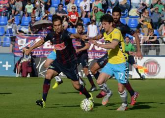 El Huesca se impone por la mínima a un Lugo con 3 rojas