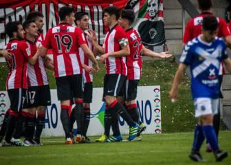 El Bilbao Athletic se despide de Segunda con una victoria