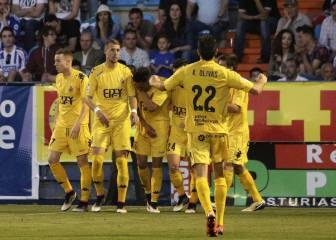 El Girona logra el objetivo, es cuarto y baja la Ponferradina