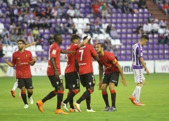 El Mallorca remonta en Zorrilla y sigue en Segunda