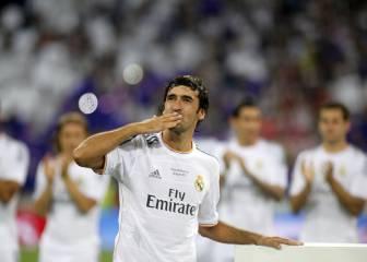 Raúl vuelve hoy al Bernabéu por una causa solidaria