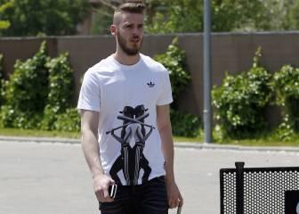 David de Gea no se cree que el Real Madrid le vaya a fichar