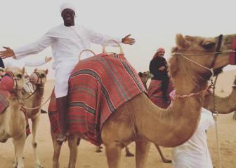 Las vacaciones en el desierto de Mario Balotelli