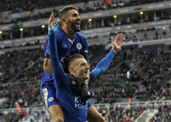 El Leicester tiembla: Mahrez podría ir con Vardy al Arsenal