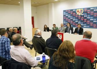 El Rayo Vallecano celebra hoy su Junta General de Accionistas