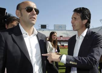 En Italia y Francia dicen que Monchi y Emery se van al PSG