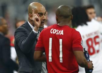 A Douglas Costa se le escapa la cláusula de Pep, City y Bayern