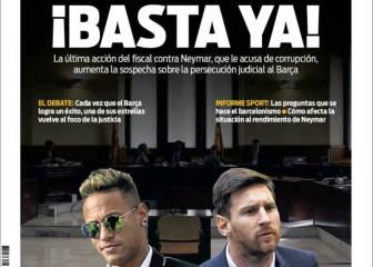 Sport ve persecución contra Messi y Neymar: