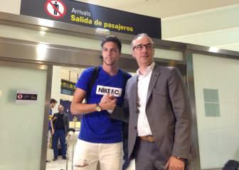 Jonas Martín ya está en Sevilla para pasar el reconocimiento