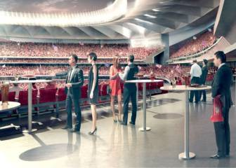 El Atleti anuncia la oferta VIP que tendrá el nuevo estadio