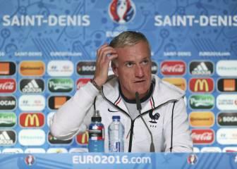 """Deschamps: """"Como juguemos con presión será complicado"""""""