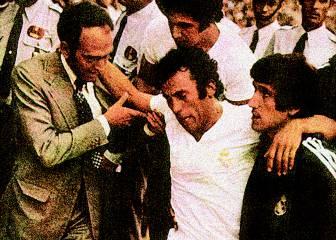 Fernández lesiona de gravedad a Amancio (1974)