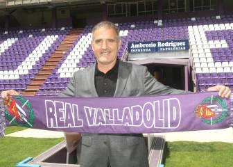 Paco Herrera toma el mando del Real Valladolid