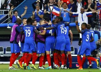 Francia 2 - 1 Rumanía: Resumen, resultado y goles