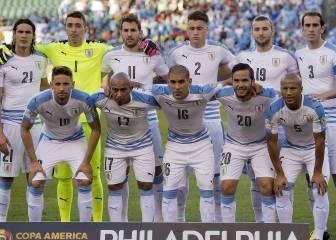 1x1 de Uruguay: Cavani falló y no tuvo contundencia