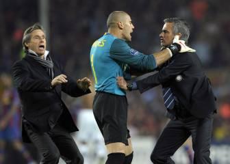 Víctor Valdés es la primera víctima de Mourinho