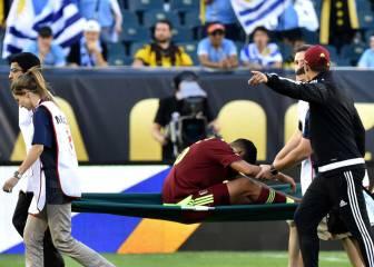 Pruebas médicas a Roberto Rosales para evaluar su lesión