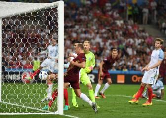 A Inglaterra se le fue el triunfo: Glushakov marcó en el 92'
