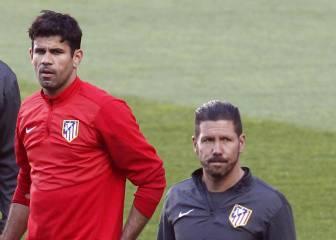 Costa: mucho contacto con los atléticos desde que se marchó