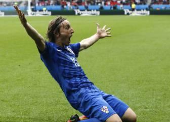 Golazo decisivo de Modric en el repaso de Croacia a Turquía