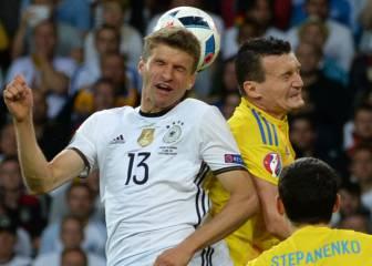 Alemania 2 - 0 Ucrania: Resumen, resultados y goles