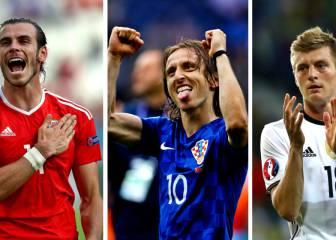 El Madrid brilla en la Eurocopa