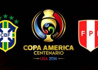 Brasil vs Perú: Crónica, resumen, ficha e imágenes