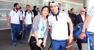 Emma Zhang, la fan china de Gaitán que lo siguió a Seattle