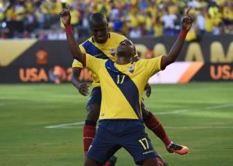 Ecuador pasa a cuartos de final con una goleada ante Haití