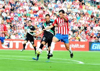 El Girona remonta y luchará con Osasuna por ascender