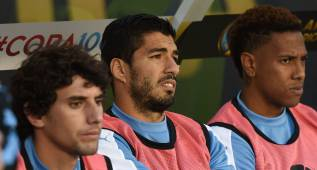 Tabárez anuncia que Luis Suárez tampoco jugará ante Jamaica