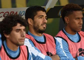 Tabárez anuncia que Luis Suárez no jugará ante Jamaica