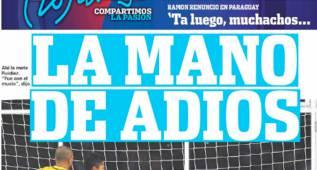 """En Argentina se cachondean de Brasil: """"La mano de adiós"""""""