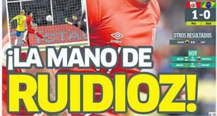 La prensa en Perú: comparan a Ruidíaz con Maradona