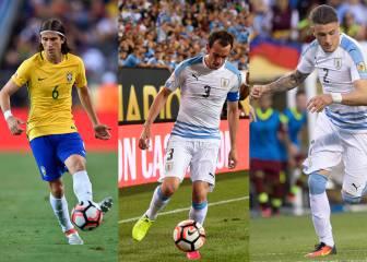 Filipe, Godín y Giménez, adiós a la Copa América en grupos