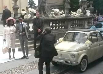 La boda 'vintage' de Samuel Eto'o en Bérgamo