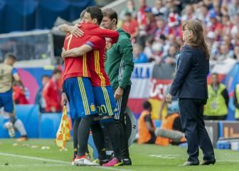 Morata y Aduriz: los delanteros de La Roja unidos por el gol