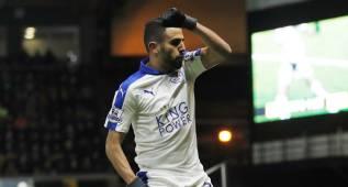 El Leicester ofrece 6,7 millones a Mahrez, objetivo del Barça