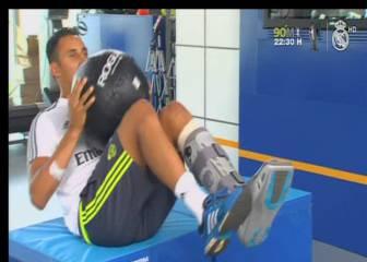 Los cinco lesionados del Madrid se recuperan ya en Valdebebas