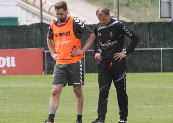 Borja, a la espera de que el club le diga sin cuentan con él o no