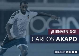 Akapo, primer fichaje del Huesca para el próximo curso