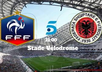 Francia vs Albania resultado, resumen y goles