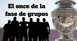 El once de la fase de grupos de la Copa América Centenario
