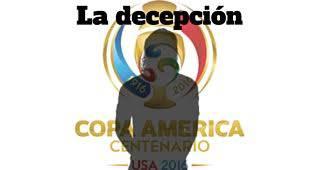 La decepción de la fase de grupos de la Copa América