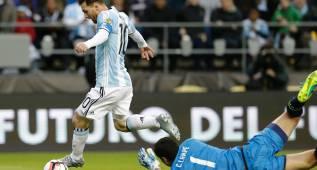 Lampe, el único portero que le frustró dos records a Messi