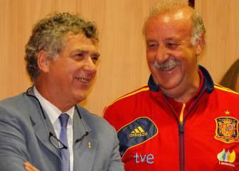 Villar intenta que Del Bosque siga, pero ha decidido irse