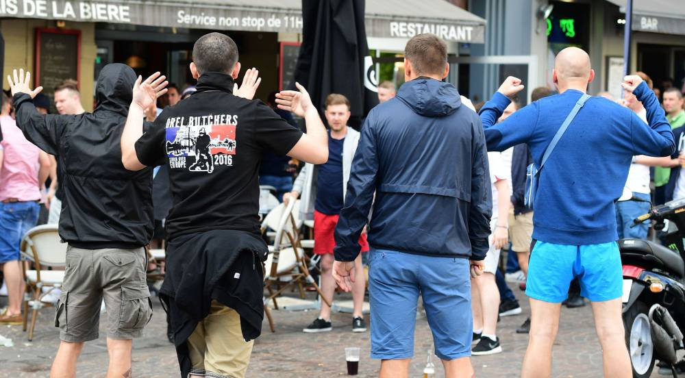 Five Russia fans in custody after attack in Cologne