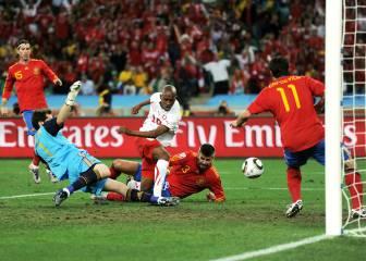 16 de junio: España cae ante Suiza en el debut del Mundial